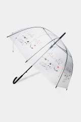 Зонт-трость полуавтомат Лаки кэтс