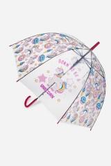 Зонт-трость полуавтомат Юникорнс