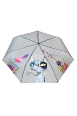Зонт складной Флауэр Кэт