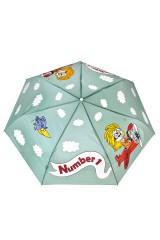 Зонт складной Веселая летчица