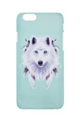 Чехол для айфона 6/6S Белый волк