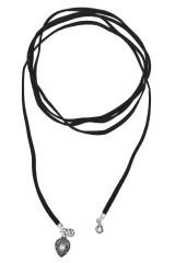 Чокер-шнурок Сантия