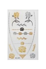 Набор тату-наклеек для тела Розы