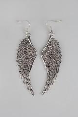 Серьги Крылья ангела