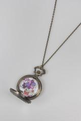 Часы на цепочке Бабочки