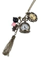 Часы на цепочке Камея