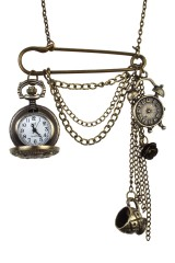 Часы на цепочке Филин
