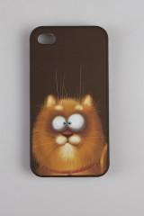 Чехол для iPhone 4/4S Рыжий котяра