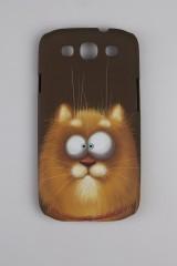Чехол для SAMSUNG S3 Рыжий котяра