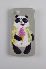 Чехол для iPhone 4/4S Панда в отпуске