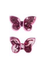 Набор детских резинок для волос Блестящие бабочки