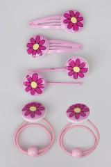 Набор украшений для волос детский Милые цветочки