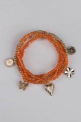 Браслет на ногу Оранжа