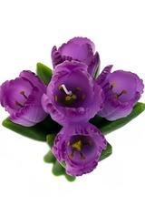 Свеча Букет тюльпанов