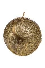 Свеча Золотой шарик