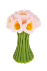 Свеча Открытые тюльпаны