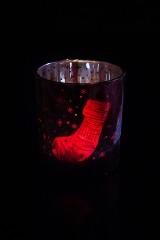 Подсвечник для свечи-таблетки Новогоднее настроение