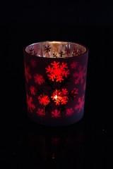 Подсвечник для свечи-таблетки Снегопад
