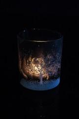 Подсвечник для свечи-таблетки Зимний пейзаж