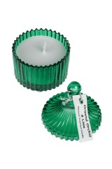 Подсвечник со свечой ароматизированной Шкатулка