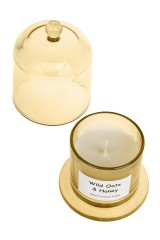 Подсвечник со свечой ароматизированной Колба