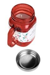 Подсвечник со свечой ароматизированной Кружка с крышкой