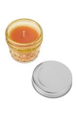 Подсвечник со свечой ароматизированной Кристалл