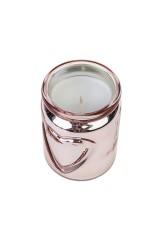 Подсвечник со свечой ароматизированной Сердце