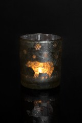 Подсвечник для свечи-таблетки Белый мишка