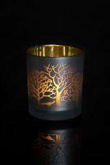 Подсвечник для свечи-таблетки Зимний лес