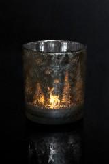 Подсвечник для свечи-таблетки Иней