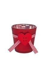 Подсвечник для свечи-таблетки Пылкое сердце