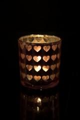 Подсвечник для свечи-таблетки Парад сердец