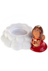 Подсвечник для свечи-таблетки Ангелочек