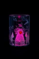 Подсвечник для свечи-таблетки светящ. Ангелочек с сердечком