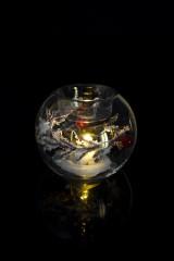 Подсвечник для свечи-таблетки светящийся Зимняя сказка