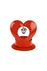 Подсвечник для свечи-таблетки Сердце в сердце