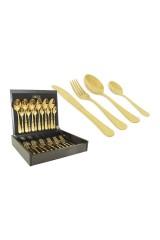 Набор столовых приборов Antique Titanium Gold