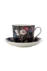 Чайная пара Полночные цветы