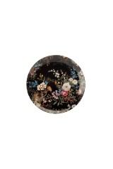 Тарелка Полночные цветы