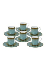 Кофейный набор Бирюза