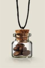 Кулон бутылочка Кофе