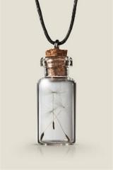 Ключница бутылочка Одуванчик