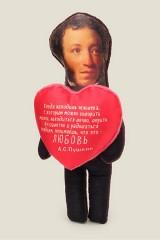Игрушка Пушкин с сердечком