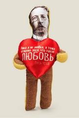 Игрушка Чехов с сердечком