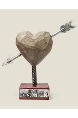 Сердце каменное Люблю железобетонно