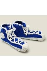 Носки Кеды синие