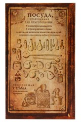 Записная книжка Бытовая алхимия