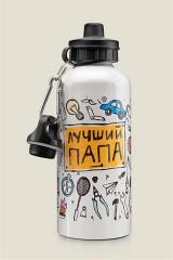 Бутылка для воды ЛУЧШИЙ ПАПА