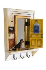 Ключница с зеркалом Квартира